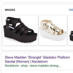 781a1ffe65eb Steve Madden Shoes - Steve Madden Strangld Gladiator Platform Sandal